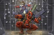 Rocket e Deadpool 01