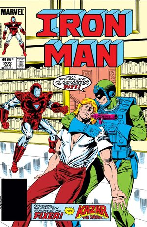 Iron Man Vol 1 202