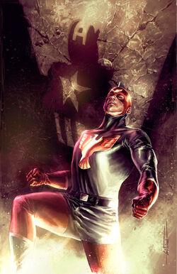 Captain America Patriot Vol 1 1 Textless