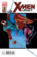 X-Men Legacy Vol 1 268 Variant Spider-Man