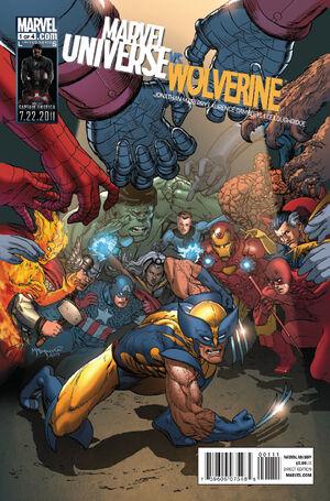 Marvel Universe Vs. Wolverine Vol 1 1