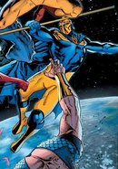 Norn (Earth-4290001) from New Avengers Vol 3 9 cover