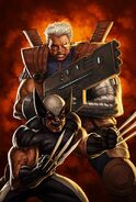 X-Force Cable Messiah War Vol 1 1 Textless Liefeld Variant