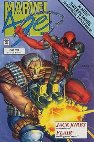 Marvel Age Vol 1 138 Front