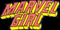 Marvel Girl logo