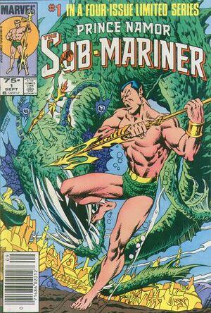 Prince Namor the Sub-Mariner Vol 1 1