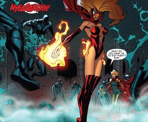 Candra (Earth-616) killing Assassins Guild (Earth-616) Scarlet Spider Vol 2 -19