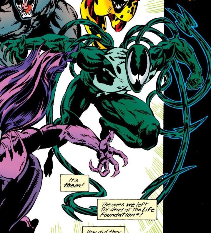 Ramon Hernandez (Lasher) (Earth-616) from Venom Separation Anxiety Vol 1 1 0001