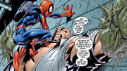 Spider Man Insulting Kingpin2 Vol 1 12 2001