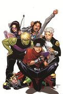Young Avengers Vol 2 5 Cheung Variant Textless