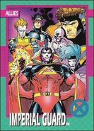 Imperial Guard (Earth-616) from X-Men (Trading Cards) 0001