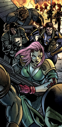 United Front (Earth-616) from Annihilation Vol 1 1 001