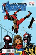 All-New, All-Different Avengers Vol 1 4 Deadpool Variant