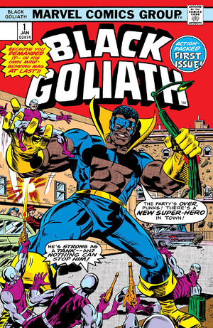 Black Goliath Vol 1 1