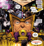 Donald Trump (Earth-65) from Spider-Gwen Annual Vol 1 1 0001