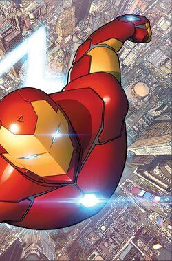 Invincible Iron Man Vol 3 1 Textless