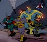 Avengers (Earth-95099) from X-Men The Animated Series Season 4 1 0001