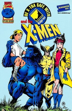 Be X-tra Safe with the X-Men Vol 1 1