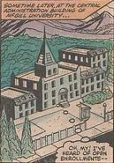 McGill University from Marvel Two-in-One Vol 1 83 001