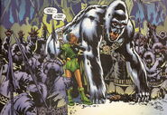 White Gorilla Cult (Earth-616) from Black Panther Vol 3 35