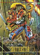 Gaveedra Seven (Mojoverse) from Marvel Universe Trading Cards 1993 Set 0001