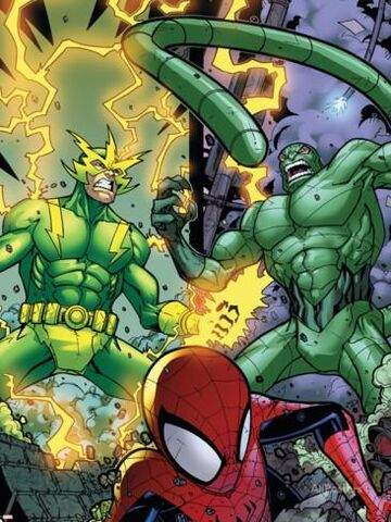 File:Spider-Man, Electron, and Scorpion (Earth-20051) Marvel Adventures Spider-Man Vol 1 48.jpg