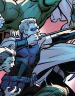 Clinton Barton (Prime) (Earth-61610) from Ultimate End Vol 1 1 002