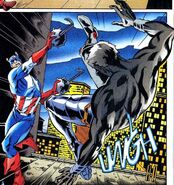 Steven Rogers (Earth-616) and Karl Morgenthau (Earth-616) from Captain America Annual Vol 1 1999 0001