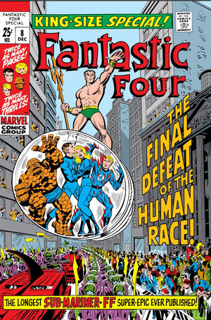 Fantastic Four Annual Vol 1 8