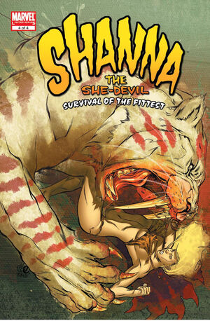 Shanna the She-Devil Survival of the Fittest Vol 1 4