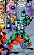 Kree Captain America (Earth-99315) from Fantastic Four Vol 3 16