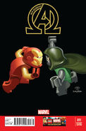 New Avengers Vol 3 11 LEGO Variant