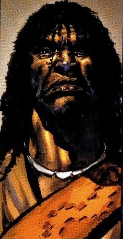 Zuri (Earth-616) from Black Panther Vol 3 1 001