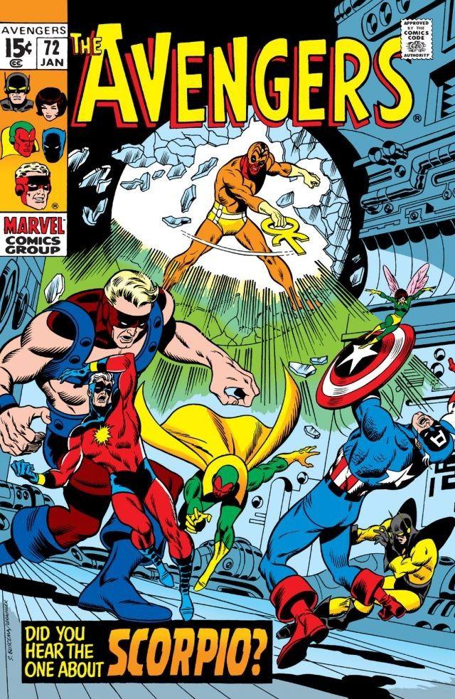 Avengers Vol 1 72