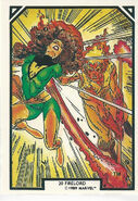 Jean Grey and Pyreus Kril (Earth-616) from Arthur Adams Trading Card Set 0001