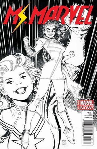 File:Ms. Marvel Vol 3 1 Adams Sketch Variant.jpg