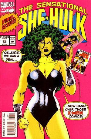Sensational She-Hulk Vol 1 60
