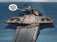 S.H.I.E.L.D. Helicarrier Pericles - X-Force Vol 4 7 001