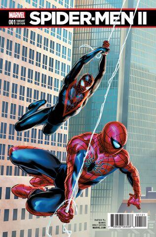 File:Spider-Men II Vol 1 1 Saiz Connecting Variant.jpg