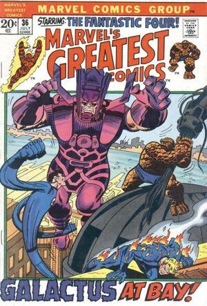 Marvel's Greatest Comics Vol 1 36