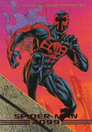 Miguel O'Hara (Earth-928) from Marvel Masterpieces Trading Cards 1993 Set 0001
