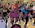 Warriors Three (Earth-14831) from Uncanny Avengers Ultron Forever Vol 1 1 001