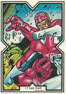 Brian Braddock (Earth-616) from Excalibur Trading Cards 0003