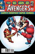 Avengers Vol 5 19 50 Years of Avengers Variant 1