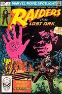 Marvel Movie Spotlight Featuring Raiders of the Lost Ark Vol 1 1