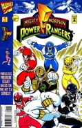 Sabans Mighty Morphin Power Rangers Vol 1 1