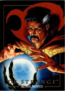 Stephen Strange (Earth-616) from Marvel Masterpieces Trading Cards 1992 0001