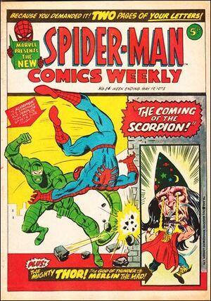 Spider-Man Comics Weekly Vol 1 14
