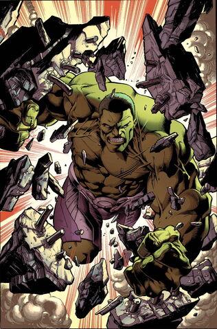 File:Hulk Vol 3 1 Bagley Variant Textless.jpg