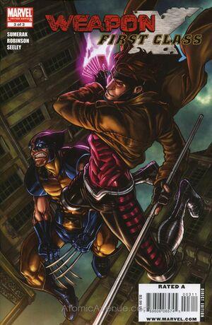 Weapon X First Class Vol 1 3